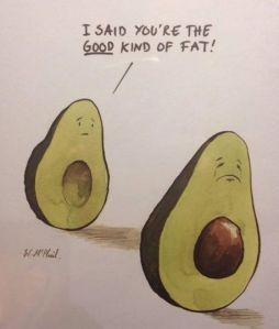 Avocado Healthy Fat Joke