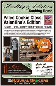 Paleo Cookie Class: Valentine's Edition