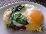 Caprese Baked Egg