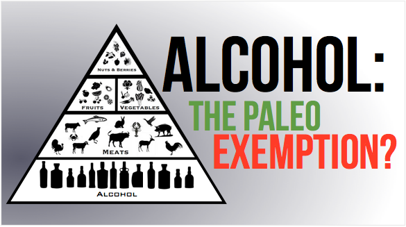 drink alcohol on paleo diet?