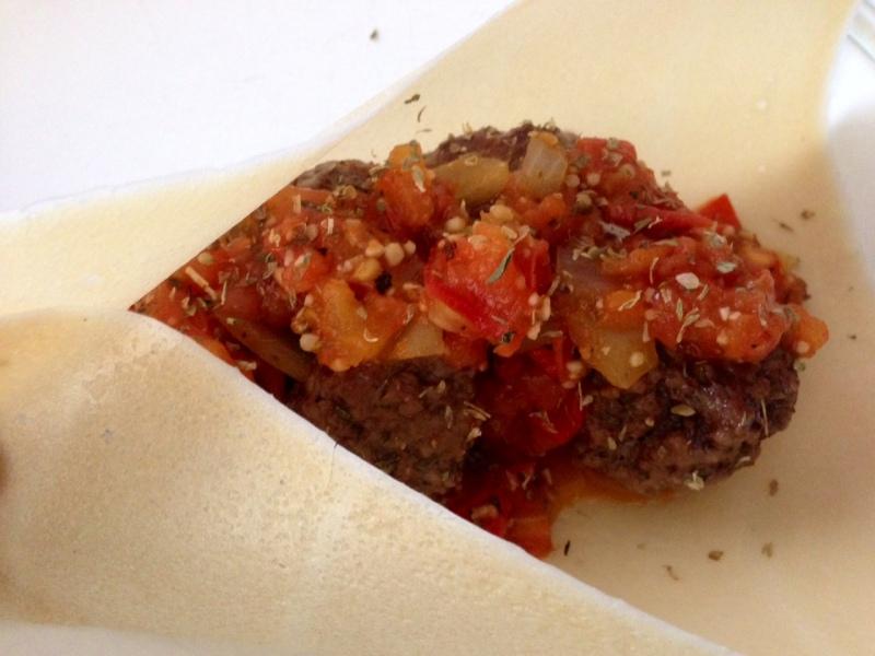 Meatball Marinara Wraps
