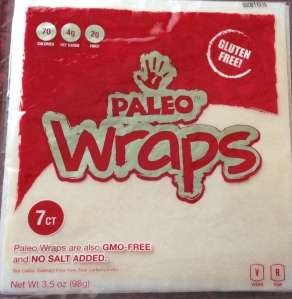 Coconut Paleo Wraps