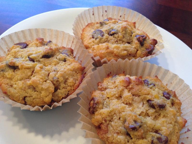 Choc-Chip Walnut Muffins