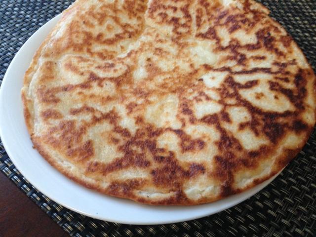 Paleo Garlic Naan Bread