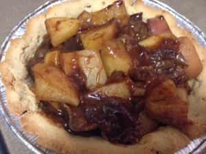 Paleo Apple Pie Preparation