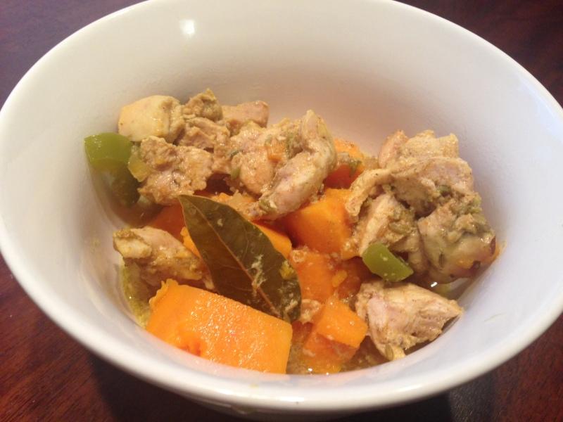 Crockpot Chicken Curry Soup