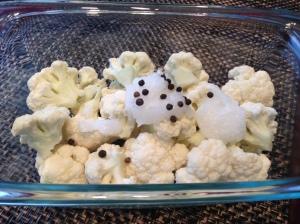 Cauliflower Mash Preparation